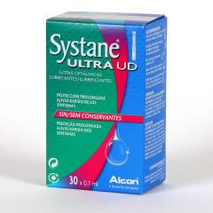 Systane Ultra UD Unidosis Gotas Oftálmicas Lubricantes 30 monodosis