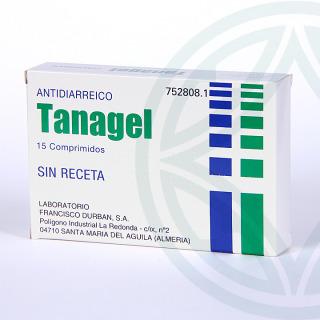 Tanagel 15 comprimidos