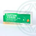 Tantum Verde 20 pastillas sabor naranja-miel