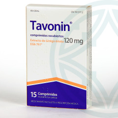 Tavonin 120 mg 15 comprimidos