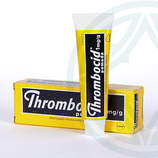 Thrombocid pomada 1 mg/g 30 g