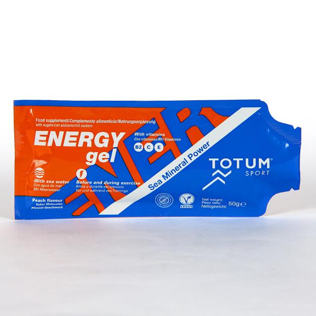 TOTUM SPORT Quinton Energy Gel sabor melocotón 50 g
