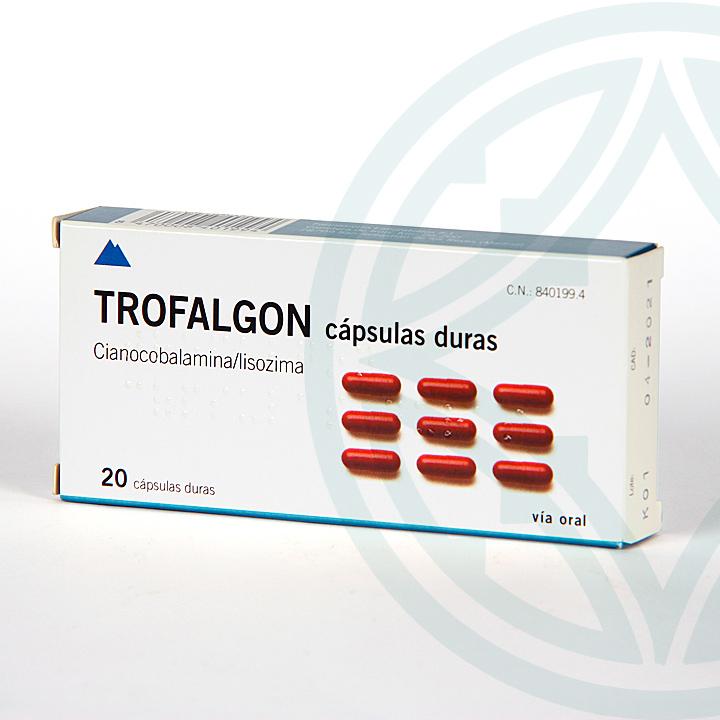 Trofalgon 20 cápsulas