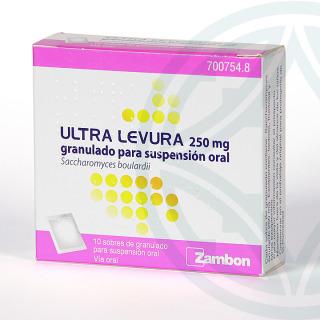 Ultra-Levura 250 mg 10 sobres