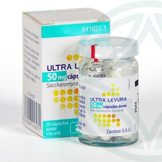Ultra-Levura 50 mg 20 cápsulas