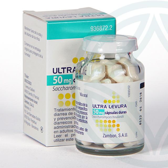 Ultra-Levura 50 mg 50 cápsulas