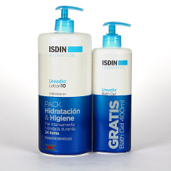 Isdin Hydration Ureadin Lotion 1L + Gel Baño 400 ml Gratis