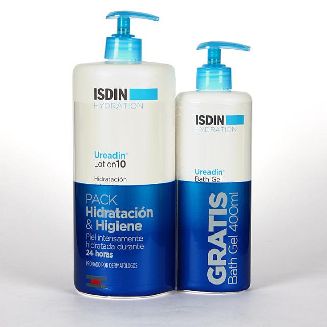 Isdin Hydration Ureadin Lotion 1L + Gel Baño 400 ml Gratis