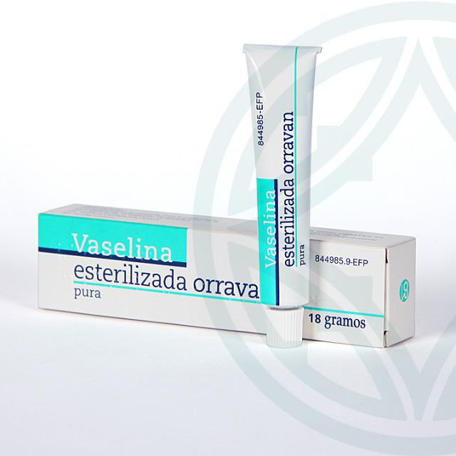 Vaselina Esterilizada Orravan 18 g