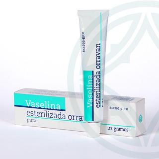 Vaselina Esterilizada Orravan 25 g