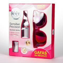 Veet Sensitive Precision Recortador Eléctrico + Gafas de Regalo