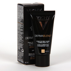 Vichy Dermablend fondo de maquillaje corrector nº20 Vainilla 30 ml