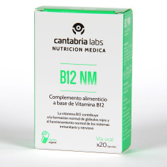 Vitamina B12 NM 20 cápsulas