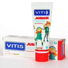 Vitis Junior gel dentífrico 75 ml