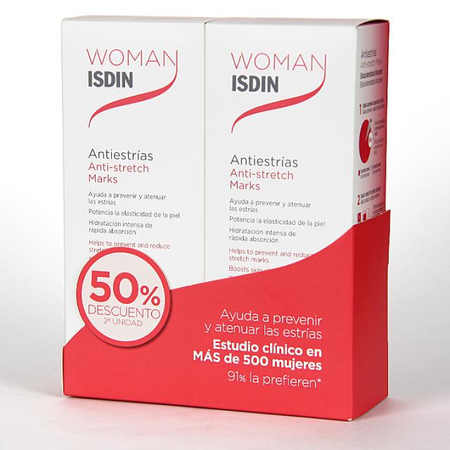 Woman Isdin Crema Antiestrías 250 ml Pack Duplo