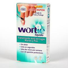Wortie Liquid Tratamiento Anti Verrugas Manos y Pies 2 en 1 5 ml