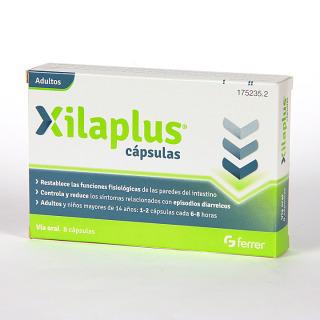 Xilaplus Antidiarreico 8 cápsulas