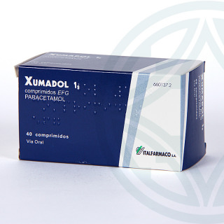 Xumadol EFG 1 g 40 comprimidos
