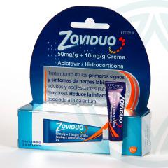 Zoviduo 50mg/g y 10mg/g crema