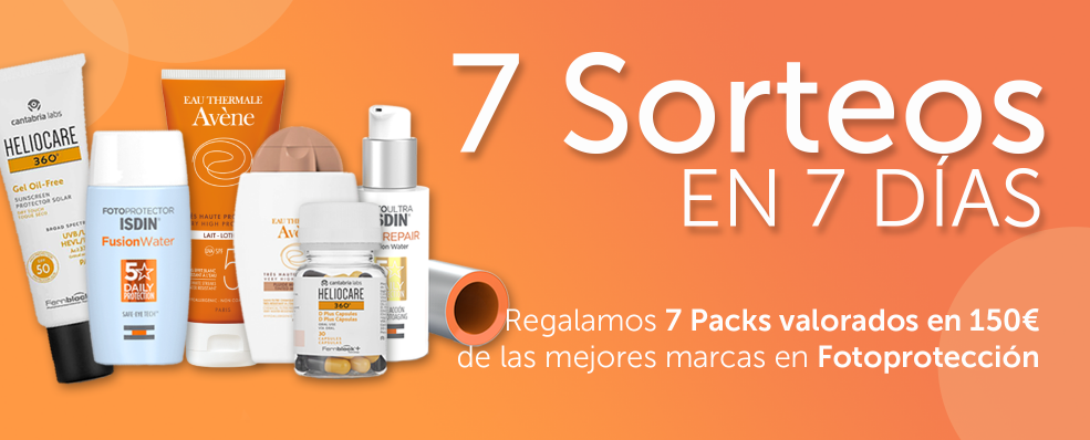 7 Sorteos Orange Friday