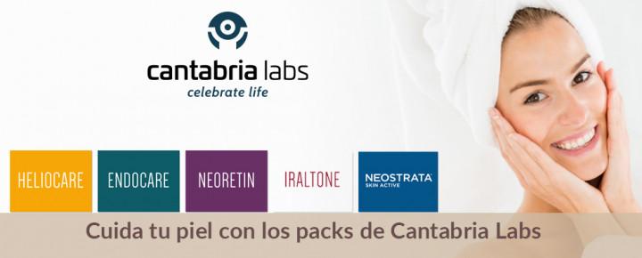 Promoción: Cuida tu piel con los packs de Cantabria Labs