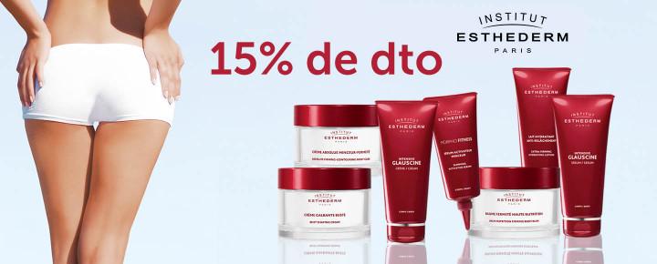 Promoción: Descuento - 15% de descuento por la compra de Esthederm Reafirmante y Reductores