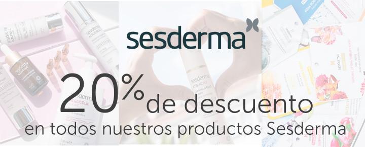 Promoción: Descuento - 20% DESCUENTO en todo Sesderma