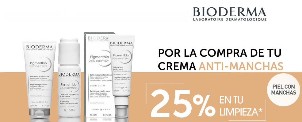 Descuento - 25% de descuento en Bioderma Pigmentbio a partir de la 2ª unidad