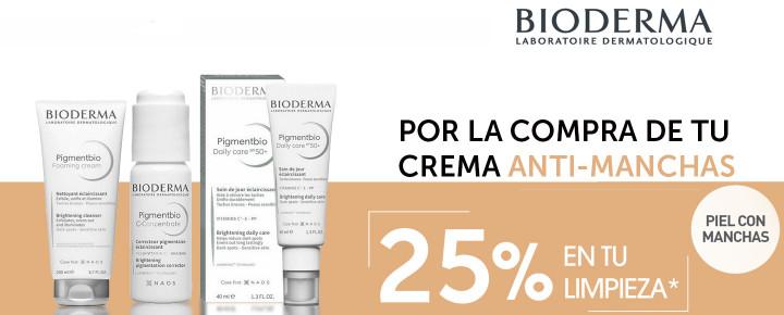 Promoción: Descuento - 25% de descuento en Bioderma Pigmentbio a partir de la 2ª unidad