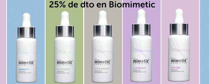 Promoción: DESCUENTO - 25% Descuento en todo Biomimetic