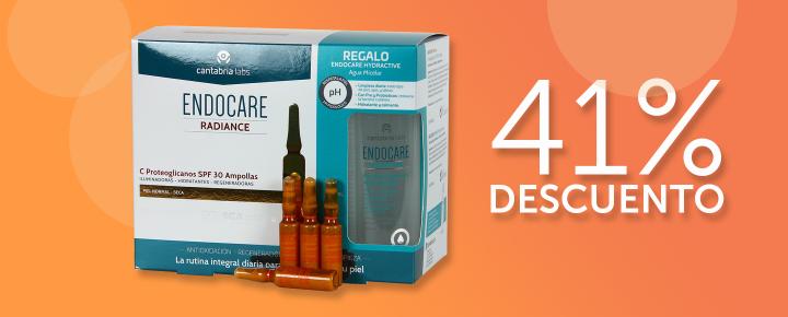 Promoción: DESCUENTO - 41%Dto en Ampollas Endocare C Proteoglicanos SPF30