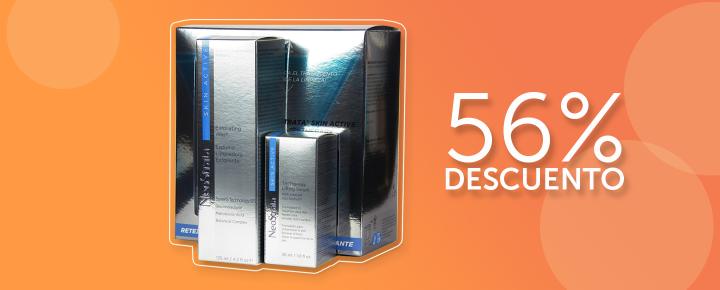 Promoción: Descuento | 56% Pack Neostrata Skin Active Tri-Therapy Serum + Espuma limpiadora exfoliante