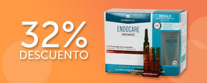 Promoción: Descuento | Ampollas Endocare C20 Proteoglicanos con un 32% de Descuento