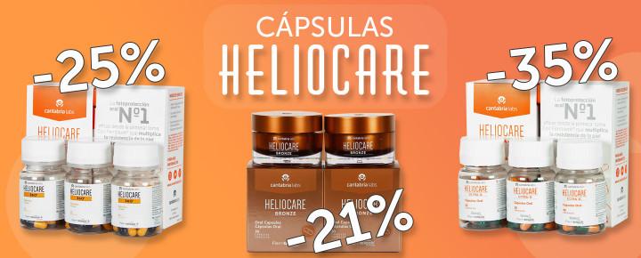 Promoción: Descuento | Packs ahorro de Cápsulas HELIOCARE