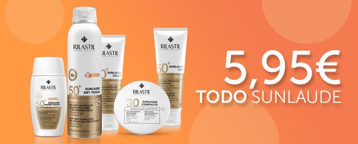 Promoción: Descuento | Todo Sunlaude a 5,95€ y packs duplo a 9'95€