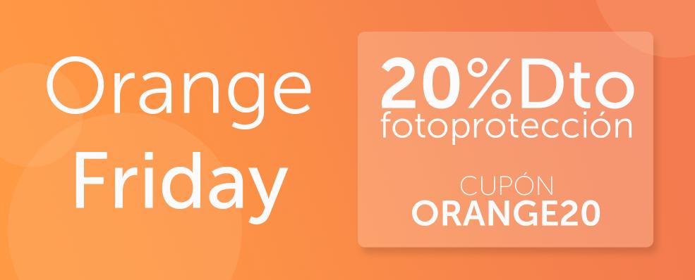 ORANGE FRIDAY 20% Descuento en Solares