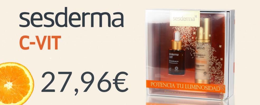 Pack Promocional Sesderma C-Vit Liposomal Serum + C-vit Cremagel revitalizante