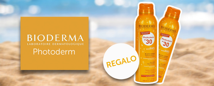 Promoción: Regalo   Bioderma MAX Bruma solar SPF30 comprando cualquier producto Photoderm