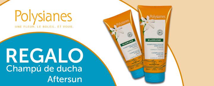 Promoción: Regalo   Champú de ducha After Sun de Polysianes de 200ml