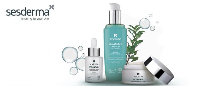 Promoción: Regalo - Por la compra de un producto de Sesderma Oceanskin te regalamos un neceser con 3 minitallas de esta gama