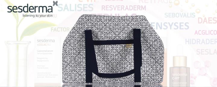Promoción: Regalo - Por la compra superior de 100€ en productos Sesderma te regalamos una bolsa de viaje