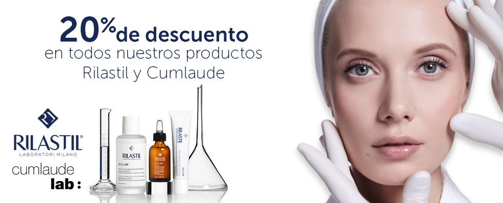 Rilastil y Cumlaude | 20% de descuento en todos nuestros productos